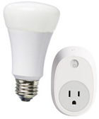 LED smart bulb, and smart controller with dimmer switch.